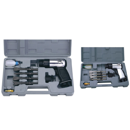 9PC 150mm Air Hammer Kit (Round) (AT-2010K/RSG|AT-2010K/R)