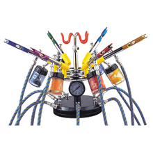 Hymair 6-Color Air Brush Kit (EW-6000)