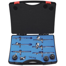 Hymair 6-Color Air Brush Kit (EW-7000)