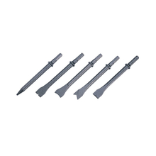 5-PC Air Chisel Set, Long (hex) (ACL-004)